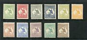 First Wm Roos 1/2and039 Green To 2/- Brown Fine Unmounted Mint
