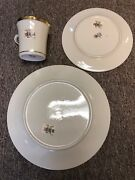 Lenox Dimension Collection Eternal, 16 Ea Dinner And Salad Plates, Cups, 2 Platter