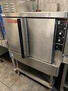 Blodgett Zephaire Convection Single Oven Natural Gas Tested 115 Volt On Stand