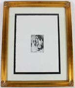 Pablo Picasso 1968 Original Etching - Miro Chagall Dali - We Love Best Offers