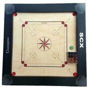 Pro Carrom Board Game Champion 12mm Full Size Best Birthday Gift For Wife