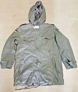 Genuine German Army Issue Olive Green Vintage Retro Lined Parka Jacket 2