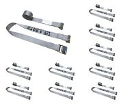 10 Pack 2 X 16and039 E-track Cam Buckle Strap Truck Trailer Enclosed Cargo Tie Down