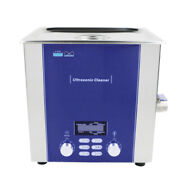 10l Ultrasonic Cleaner Industrial Metal Parts Cleaning Power Adjust Dr100