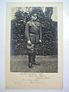 General John J. Pershing Inscribed And Signed Black And White Photograph Excellent