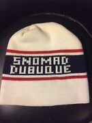 Vintage 70and039s Snomad Dubuque Ski Hat. Dubuque Iowa. Very Rare. Mint