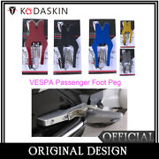 Passenger Foot Pegs Extensions Footres For Vespa Gt Gts Gtv 60 125 200 250 300