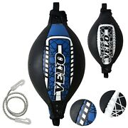 Velo Leather Speed Ball Double End Dodge Mma Boxing Floor To Ceiling Punch Bag