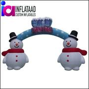 18ft Inflatable Snowman Arch