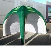 10 Ft Inflatable Tent Green