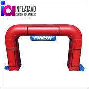20 Ft Inflatable Red Arch