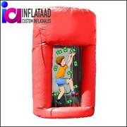 Inflatable Cash Cube Red