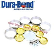 New Cam Bearings And Brass Freeze Plug Set Ford Sb 351c 351m 400 V8 Engines