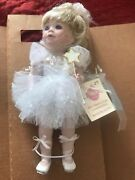 Collectables By Phyllis Parkins 10 Porcelain Doll Autographed Ballerina