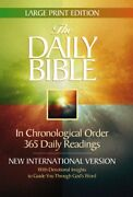 Daily Bible Large Print Edition By F Lagard Smith