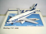 Herpa Wings 500 Lot Polish Airlines B737-500 1990s Color 1500 Og
