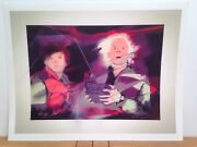 88mph - Back To The Future / Limited Ed Signed Print By Keith Browning - 62x47cm