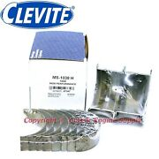 New Set Of Clevite H Series .001 Undersize Main Bearings 400 6.6l Sb Chevy