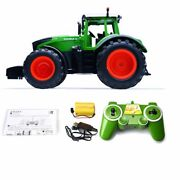 116 Rc Farm Tractor 2.4g Remote Control Car Construction Vehicle Toy Gift Boy