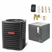 Goodman - 1.5 Ton Air Conditioner + Coil Kit - 14.0 Seer - 24.5 Coil Width -...