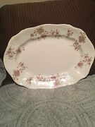 F Winkle And Co Colonial Pottery Stoke England Millam Serving Platter