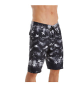 New Oand039neill Board Shorts Independence Flag Black Usa Star Stripe 32 34 36 38 40