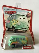 Rare Wave 1 Disney Pixar Cars Fillmore Correct Spelling Front And Back 12 Car