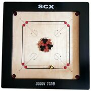 Pro Carrom Board Game + Coins And Sticker Chu_0310