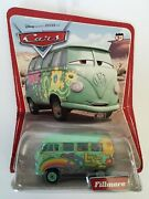 Rare Wave 1 Disney Pixar Cars Fillmore Correct Spelling Front Wrong On The Back