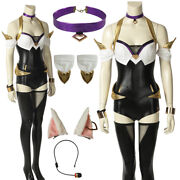 League Of Legends Kda Ahri Cosplay Costume Game Outfits Sexy Costume With Acces