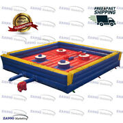 20x20ft Inflatable 4 Players Jousting Sticks Sport Game With Air Blower
