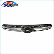 New Upper Grille Fits 2017-2018 Subaru Forester 91121sg240