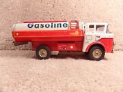 Rare San Japanese 5-1800 Shell Oil Gasoline Fuel Tin Tanker Friction Toy Truck