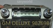 1950's Old Gm Deluxe Classic Vintage Original Car Dash Radio Made In Usa