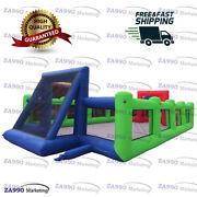 39x20ft Commercial Inflatable Field Football Sport Arena Soccer With Air Blower