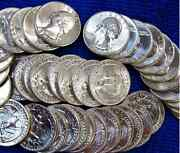 Lot 25+ Gem Bu Coins 1930s-1960s+75 Years Old+silver+gold+red Wheats+wwii 25