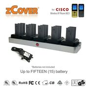 Zcover Multi Battery Charger For Cisco 8821/8821-ex Wireless Ip Phoneand039s Battery