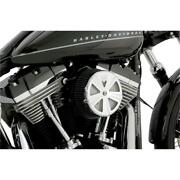 Vance And Hines 71017 Vo2 Air Filter Cover Skullcap Crown - Chrome