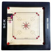 Bull 5000 20mm Carrom Board Game Full Size Band039day Gift For Grand Father