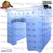 6.6x6.6ft Inflatable Led Light Photo Booth Tent Wedding Party With Air Blower