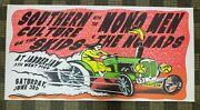 Southern Culture Mono Men The Nomads At Jabberjaw Silk Screened Rock Poster Kuhn
