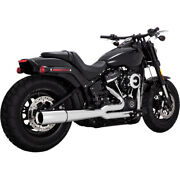 Vance And Hines Pro Pipe 2 Into 1 Exhaust 17587 For Harley 2018 Softail Models