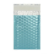 Metallic Bubble Padded Envelopes Ice Blue Mailer All Size Fastandfree Delivery