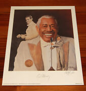Cab Calloway 16 X 20 Lithograph By Christopher Paluso - Signed And Numbered