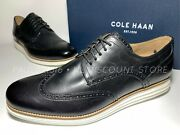 Cole Haan Menand039s Original Grand Shortwing Leather Oxford C26469 Various Sizes