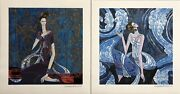 Ting Shao Kuang Portfolio Of 2 Serigraphs Book And Case All Signed All 393