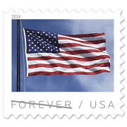 Usps New Us Flag 2019 Coil Of 100