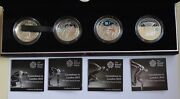 2009-2012 Countdown To London Olympics Silver Proof Royal Mint 4 Coin Set