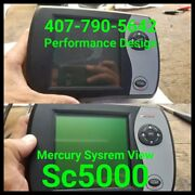 Mercury Smartcraft Diesel View Sc5000 Repair Service / Restoration