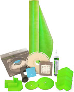 Trugard 165 Sqft Shower Kit And Drain Fits Up To 60 X 60 X 7and039